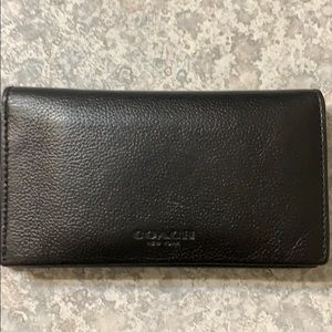 Men's Coach Bifold Wallet